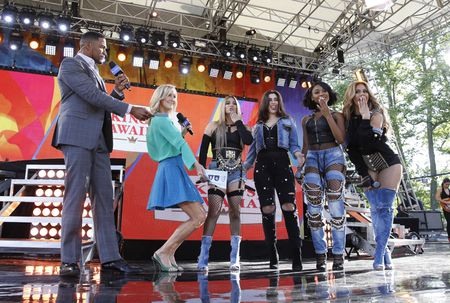 MICHAEL STRAHAN, LARA SPENCER, FIFTH HARMONY